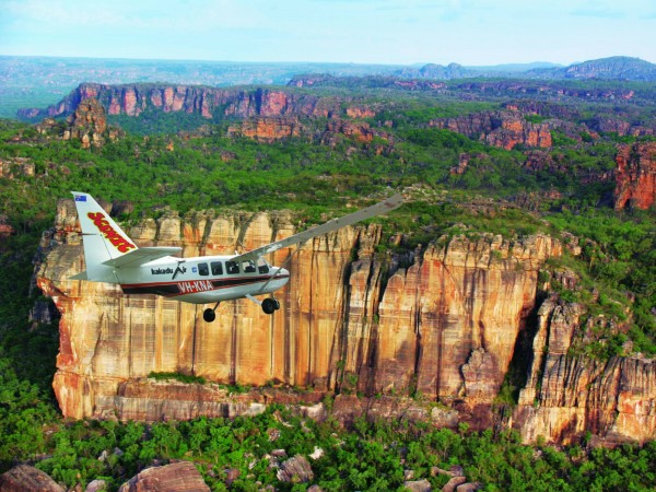 Kakadu Scenic Flight Departing Darwin