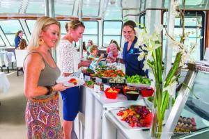Buffet on Darwin Harbour Cruise